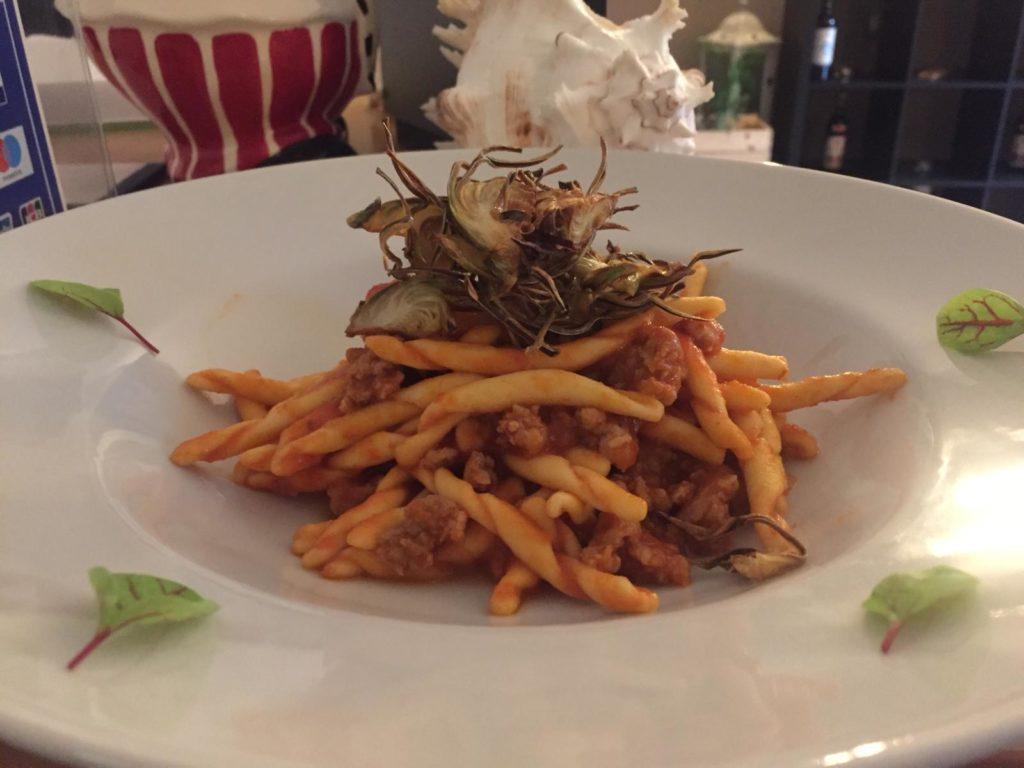 pasta fresca salsiccia domomia