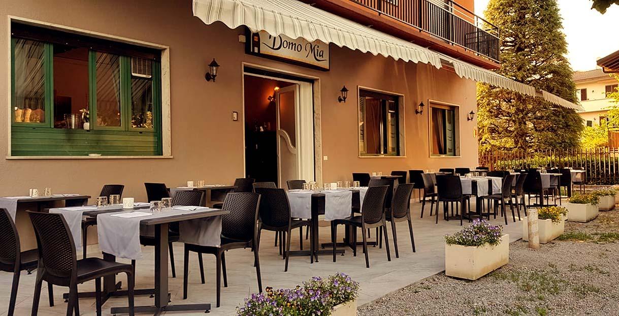 ristorante domomia esterno